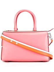 Emilio Pucci Contrasting Detail Tote Pink Purple