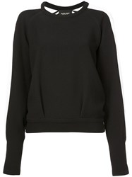 Rachel Comey Side Stripe Sweater Black