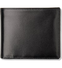 Launer Bifold Leather Wallet With Window Black