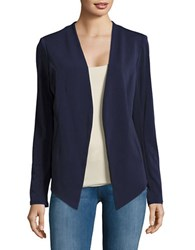 Bcbgeneration Open Front Asymmetical Jacket Navy