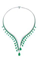 Vanleles X Gemfields Emerald Necklace Green