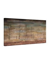 Parvez Taj The Woods Painting Print On Wrapped Canvas Brown
