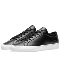 Common Projects Woman By Original Achilles Low White Sole Black