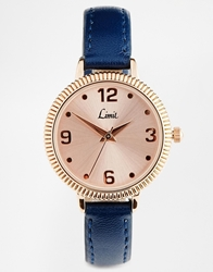 Limit Rose Gold And Navy Watch