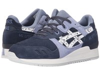 Asics Tiger Gel Lyte Iii Indian Ink White Classic Shoes Navy