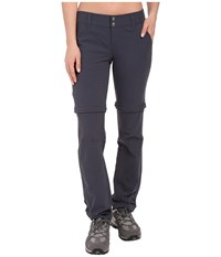 Columbia Saturday Trail Ii Convertible Pant India Ink Women's Casual Pants Gray