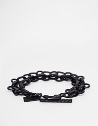 Icon Brand Superconnected Metal Bracelet Black