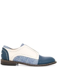 Lorena Antoniazzi Riveted Loafers Blue