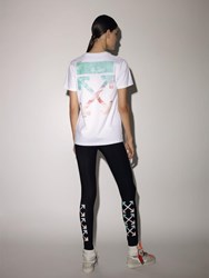 Off White Lvr Exclusive Printed Cotton T Shirt White