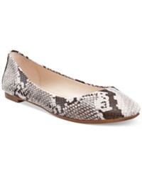Alfani Women's Gesseyl Flats Only At Macy's Women's Shoes Natural Python