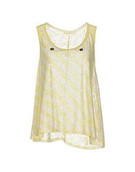 Vicolo Topwear Tops Women Yellow