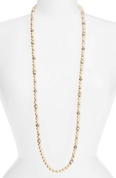 Marchesa Women's Faux Pearl Strand Necklace