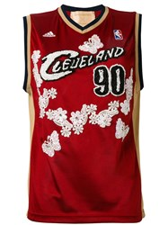 Night Market Cleveland Embroidered Nba Tank Women Polyester One Size