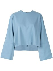 Le Ciel Bleu Oversized Fit Cropped Sweatshirt 60