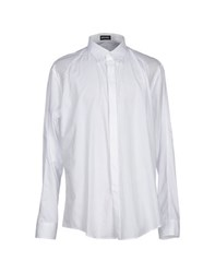 Dirk Bikkembergs Shirts Shirts Men White