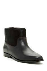 Saint And Libertine Trinket Dyed Genuine Baby Calf Hair Bootie Black