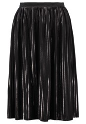 Minimum Vinni Pleated Skirt Black