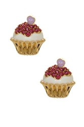 Ariella Collection Cupcake Stud Earrings Multi