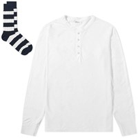 Schiesser Hanno Top And Sock Pack White