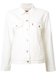 Levi's Denim Jacket White