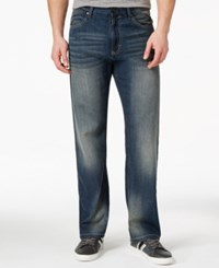 Sean John Hamilton Deco Heath Wash Relaxed Fit Jeans