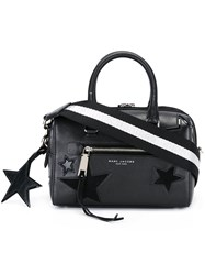 Marc Jacobs Small 'Star Patchwork' Bauletto Tote Black