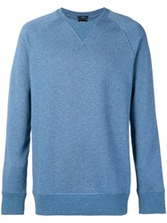 Hugo Boss Crew Neck Sweatshirt Blue