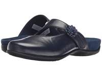 Vionic With Orthaheel Technology Joan Mary Jane Mule Navy Women's Clog Shoes