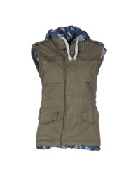 Please Coats And Jackets Jackets Women Military Green
