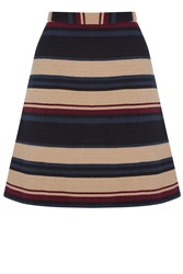 Oasis Stripe Hattie Mini Multi Coloured
