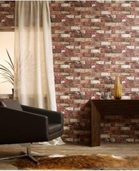 Graham And Brown Red Brick Wallpaper
