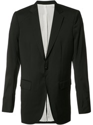 Thamanyah Dislocated Shoulder Blazer Black