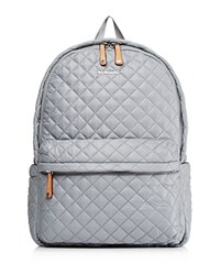 M Z Wallace Mz Metro Backpack Dove Gray Silver