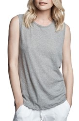 James Perse Women's Relaxed Fit Tank Heather Grey