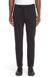 Versace Men's Jeans Textured Jogger Pants