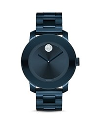 Movado Bold Museum Dial Watch 36Mm Blue