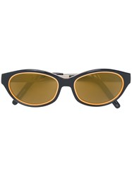 Jean Paul Gaultier Vintage Logo Sunglasses Black