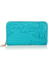 Versace Quilted Leather Wallet