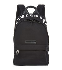 Mcq By Alexander Mcqueen Canvas Logo Backpack Unisex Black