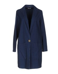 True Tradition Overcoats Blue