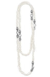 Lagos Women's 'Black And White Caviar' Agate Multistrand Necklace