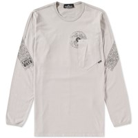 Stone Island Shadow Project Long Sleeve Mako Tee Grey