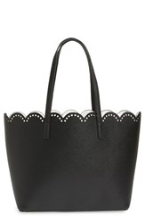 Junior Women's Bp. Scalloped Faux Leather Tote