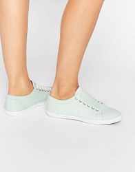 Fred Perry Kingston Twill Dusty Mint Trainers Dusty Aqua Porcelain Green