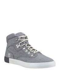 Timberland Newport Bay Canvas Hikers Forged Iron