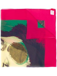Undercover Face Paint Scarf Green