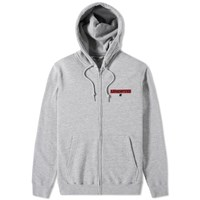 Undefeated Box Zip Hoody Grey