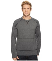 Smartwool Active Reset Crew Charcoal Clothing Gray
