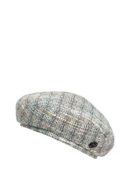 Maison Michel New Billy Tweed Hat Multicolor