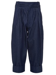 J.W.Anderson Pleated Baggy Trousers Navy